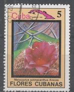 Cuba 1983. Scott #2639 (U) Flower, Melocactus Actinacanthua * - Cuba