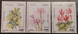 Algeria, 1991, Mi: 1041/43 (MNH)