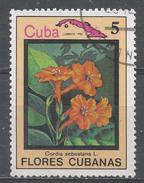 Cuba 1983. Scott #2640 (U) Flower, Cordia Sebestana * - Cuba
