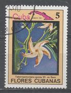 Cuba 1983. Scott #2641 (U) Flower, Tabernae Montana Apoda * - Cuba