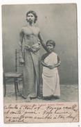 CEYLAN -singhalese & Tamil Woman - Sri Lanka (Ceylon)