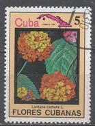Cuba 1983. Scott #2642 (U) Flower, Lantana Camara * - Cuba