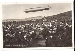 REINACH Mit Luftschiff Graf ZEPPELIN 1932 - AG Argovie