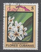 Cuba 1983, Scott #2643 Flower's: Cordia Gerascanthus (U) - Cuba