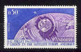 French Andorre. 1962 Telstar Satellite Y=165 E=185 S=154
