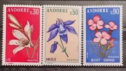 Andora Fr, 1973, Mi: 250/52 (MNH)
