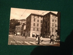 Cartolina Genova Bolzaneto Via Rismondo Animata Vigile Non Viaggiata - Genova (Genoa)