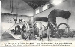 03 - 293 - Barrage Sur Le Cher à ROCHEBUT, Près De Montluçon - Usine Hydro-électrique - TBE - Ed. G. Chaumont Montluçon - France