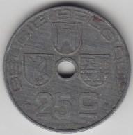 @Y@    België    25  Centimen     1945    (3400) - 1909-1934: Albert I