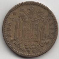 @Y@    Spanje  1 Peseta    1953      (3404) - [ 5] 1949-… : Koninkrijk