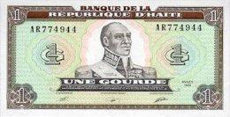 Haiti 1 Gourde 1989 Pick 253 UNC - Haïti