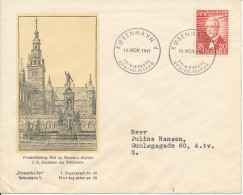 Denmark FDC 10-11-1947 I. C. Jacobsen The Founder Of CARLSBERG Breweries With Very Nice Cachet - FDC