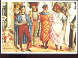 CPM Neuve Italie SIENA Pontefice Canonizza S. Caterina Da Siena ( Particolare Détail )