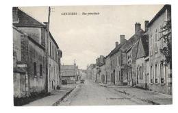 (11241-89) Cerisiers - Rue Principale