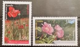 Andora Fr, 2013, Flowers (MNH)