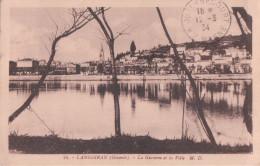 LANGOIRAN La Garonne Et La Ville (1934)
