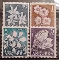 Andora Esp, 1966, Mi: 67-70 (MNH)