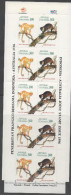 INDONESIA , 1996, MNH, JOINT ISSUE AUSTRALIA INDONESIA, FAUNA, BOOKLET - Emissions Communes