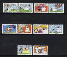 France  Timbre De 2006 (sourires)  N°3953 A 3962  Timbres Oblitérés - Frankreich