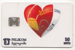GEORGIE Ref MV Cards GEO-4 GEOCELL GSM - Georgië