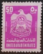 EMIRATOS ARABES 1976 Coat Of Arms. USADO - USED - United Arab Emirates (General)