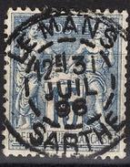 FRANCE 1877 / 90 - Y.T. N° 90 - OBLITERE - FD54