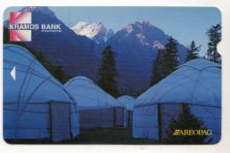 KYRGHIZISTAN Ref MV Cards KYR-MA-1 10 U - Kirgisistan