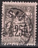 FRANCE 1877 / 90 - Y.T. N° 91 - OBLITERE - FD54