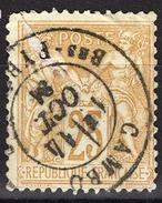 FRANCE 1877 / 90 - Y.T. N° 92 - OBLITERE - FD54