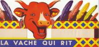 Ancien Chapeau Casquette Vache Qui Rit Par Benjamin Rabier 37x15cm - Publicités
