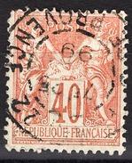 FRANCE 1877 / 90 - Y.T. N° 94 - OBLITERE - FD54