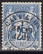 FRANCE 1876 / 77 - Y.T. N° 79 - OBLITERE - FD54
