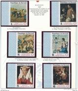 BURUNDI ART World Famous Paintings  Expo 67 Fine Art 6 IMPER W WIDE MARGIN  (Symbol) MNH - Art