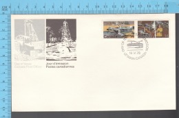 Canada -  1978  Scott # 766, Natural Resource, Athabaska Tar Sands, Cobalt Silver Mine - FDC PPJ , Special Cancelation - Premiers Jours (FDC)