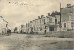 85  CHAILLE  Les  MARAIS  -route Nationale 2 - Chaille Les Marais