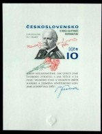 Czechoslovakia / Stamps (1975) 2175 Ab: 80th Birthday Of General Ludvik Svoboda (1895-1979)