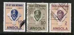 ANGOLA  Scott # 359-61 VF USED - Angola