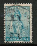 ANGOLA  Scott # 251 VF USED - Angola
