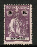 ANGOLA  Scott # 155 F-VF USED - Angola