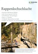 Flyer Rappenlochschlucht Dornbirn Gütle Vorarlberg Führung Tourismus Österreich Klamm Österreich Austria Autriche AUT - Reiseprospekte