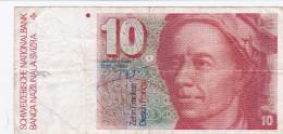 Suisse - Billet De 10 Francs - Leonhard Euler - Suisse