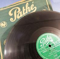 *DISQUE EN CIRE 78 TOURS PATHE MICK MICHEYL FRANCK POURCEL - Musique Chanson Gramophone - 78 Rpm - Schellackplatten
