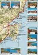 83---DE SAINTE-MAXIME à CAVALAIRE SUR MER--(d'après Carte MICHELIN )--Multi-vues----voir 2 Scans - France