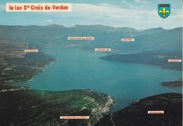 83---le Lac SAINTE CROIX DU VERDON--sites Du Haut Var---voir 2 Scans - France
