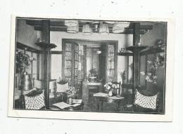 Cp , Hôtels & Restaurants , VILLA MADONA , Lourdes , 65 , Salon De Lecture , Imp : Carret Véne , Vierge - Hotels & Restaurants