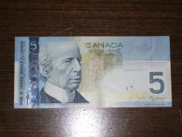 Canada - Billet De 5 Dollars - Laurier - 2006 - Canada
