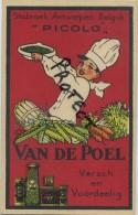 Stabroek :  Reklame  Conservenfabriek Van De Poel   (  Zie Scan Voor Detail )  Perfecte Staat - Belgique