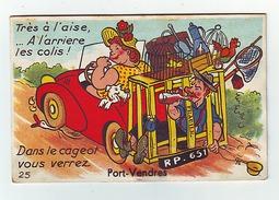 PORT-VENDRES (cpa Multivues Humoristique) - Port Vendres