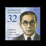 Kazakhstan 2011 Mih. 717 Writer Gabdol Slanov MNH ** - Kazakhstan