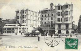Dieppe - L'Hôtel Régina Palace - Calèche - Carte LL N° 119 - Hotels & Restaurants